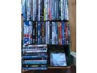 Selection of 100+ dvds