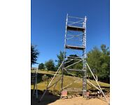 Boss Youngman Scaffold Narrow Evolution Tower 8.2m wh X 1.8m