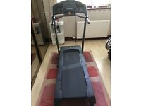 Domyos essential treadmill used 3 times £100. Was £300 one year ago. All instructions etc