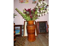 Floor vase bay pottery W German