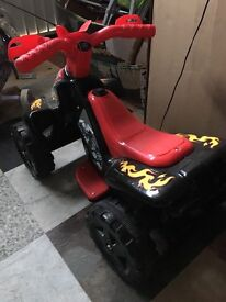 Rechargeable Toy Quad Bike