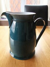 Denby Greenwich (green) Large 4 pint pitcher jug - Water - Custard - Juice