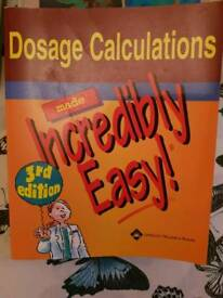 Dosage Calculations book (used)