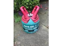 Calor 5kg empty propane gas bottle