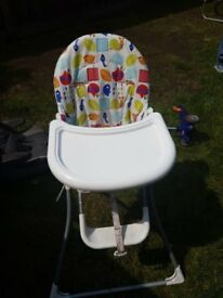 Child high chair £ 12 @ Woodley