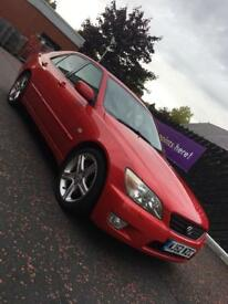 Lexus is200 Sport Red