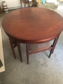 Frem Rjole 1960's Antique Dining Room table and chairs