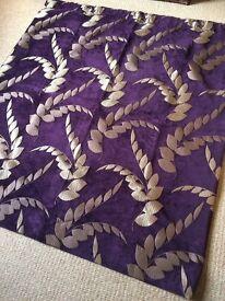 Handmade blackout velvet curtains
