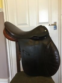 "17.5"" General Purpose Leather Saddle - Walsall & Fazeley"