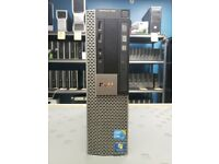 Dell OptiPlex Core i5 Desktop Computer PC 8GB RAM 240GB SSD Windows 10 Professional WIFI Enabled