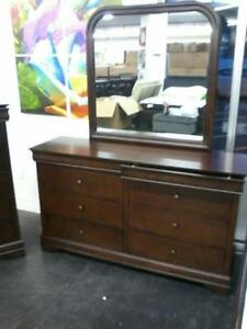New Dressers with Mirrors Starting at $550 taxes included