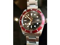 Tudor Black Bay burgundy 79220r October 2016 model