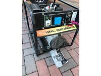 Diesel Generator.