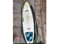 Rusty bat tail 6,0 shortboard!!