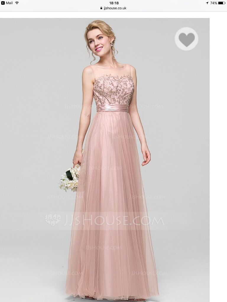 Brand new Bridesmaid dress - size 8 UK / dusty rose | in Chiswick ...
