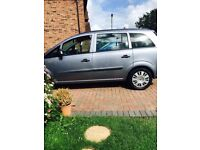 Vauxhall zafira life automatic 7 seater, 10 months mot, new exhaust, drives perfect