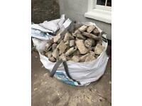 Walling stone near Bristol