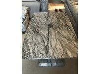 XX further Reduced for quick sale XX - Stunning Solid Marble-effect wooden coffee table
