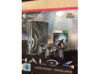 Xbox 360 halo limited edition 320 gb Kinect + 11 games