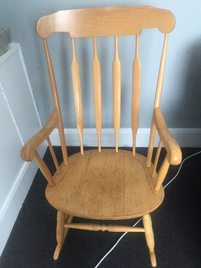 Marvelous Pine Rocking Chair In Peterlee County Durham Gumtree Pdpeps Interior Chair Design Pdpepsorg