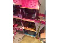 Beautiful Large Dolls House and Accessories - Open to offers on price