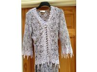 Ann Bolan Designer Italian lace outfit