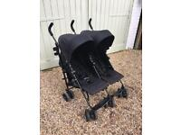 Mamas and Papas double twin stroller