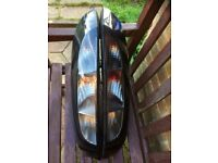 Corsa c sxi 2005 rear smoked lights the pair in vgc 07594145438