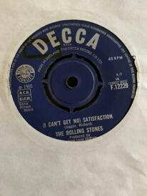 Rolling Stones I can't get no satisfaction 7 inch