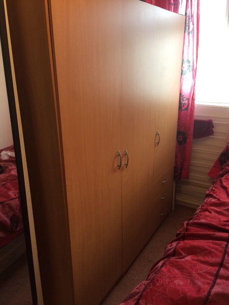 Bedroom Wooden Cupboard