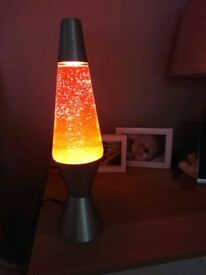 Lava lamp. Orange and yellow. Excellant condition. £5.