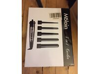 Molain 5 in 1 Curler - Bought for wedding, Almost new, only used 3 times, 5 interchangeable wands