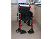 NEW ADULT WHEELCHAIR BY PATTERSON MEDICAL.