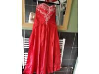 Stunning prom/wedding dress size 8/10/12