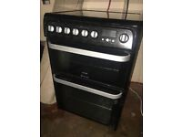 HOTPOINT Ultima Electric Ceramic Cooker
