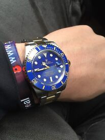 Rolex submariner blue dial £220 ono