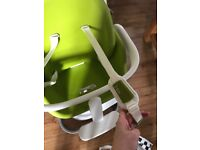 Lime green chicco i-sit highchair