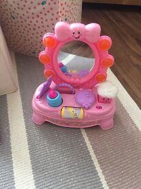 Fisher price vanity mirror