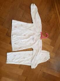 Little white company girls pyjamas