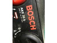 Bosch electric chainsaw