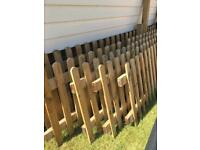 Picket fencing (20 metres)