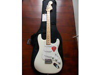 Fender American Special Stratocaster Olympic White Brand New Unused