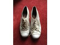 Cream Topshop shoes 6