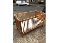 Wooden Cot bed