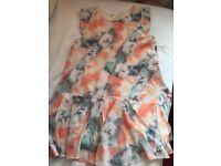 Summer flowery dress