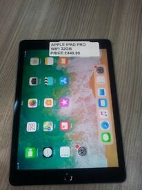 """!!!!!SUPER CHEAP DEAL APPLE IPAD PRO 9.7"""" WIFI COMES WITH WARRANTY!!!!!!"""