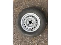 Caravan wheel and tyre brand new.