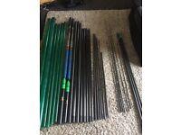 Maver superlithium green dream 14.50M 4 top kits cupping kit no cup 2larg 4small TEK NEEK pole tubes