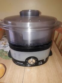 Tefal 3 Tier 9L Ultra Compact Steamer Stackable 900W