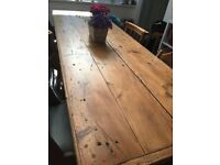 Stunning 1930s Vintage French Work/Dining Table. Seats 10